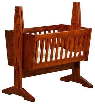 Chelsea Home Dorset Mission Baby Cradle Pad Not Included In Red