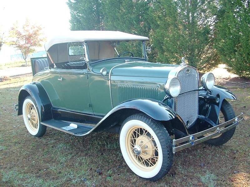 1931 ford model a deluxe roadster for sale hemmings motor news old cars ford classic cars. Black Bedroom Furniture Sets. Home Design Ideas