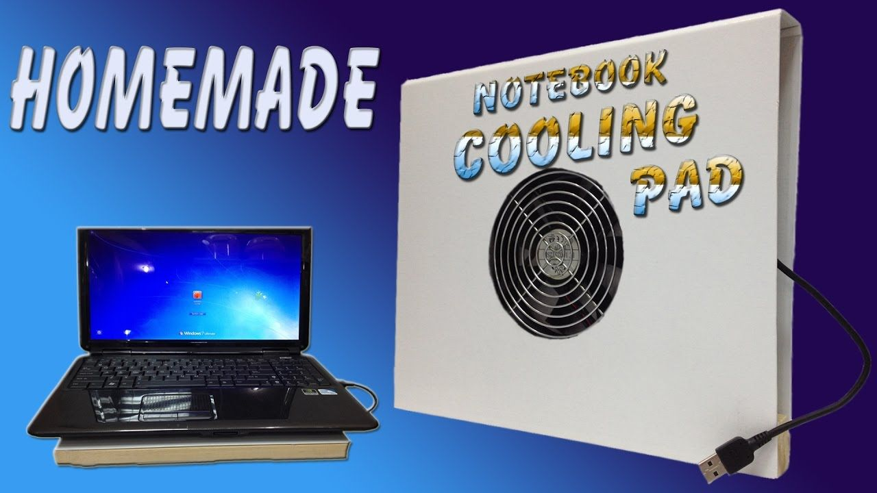 How To Make Laptop Cooling Pad Homemade Laptop Cooler Diy