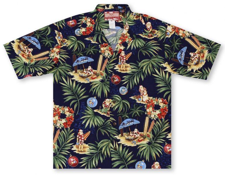 c3354b0c Aloha Christmas 2017 Hawaiian Shirts From Aloha Shirt Shop | RJC Santa's  Holiday | ARJCC-02