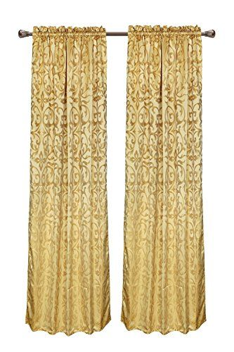 Euphoria CaliTime Vintage Damask Floral Window Curtain Panel 56 X 84 Inches Heavy Thick Gold Color Euphoria http://www.amazon.com/dp/B014RJ0AL8/ref=cm_sw_r_pi_dp_pPQfxb1A67G1D