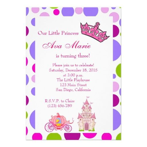 Princess birthday party invitation birthday invitations princess birthday party invitation filmwisefo