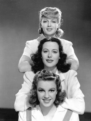 Lana Turner, Hedy Lamarr and Judy Garland