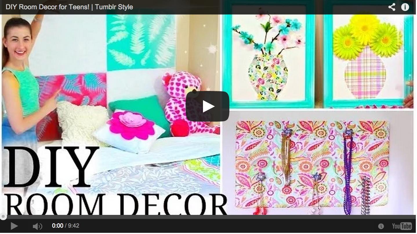 Diy Room Decor For Teens Tumblr Style Tumblr Room Decor Diy