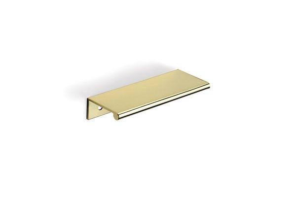 dp3b 4 tab drawer pull polished brass drawer pulls