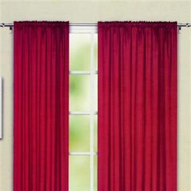Bergen Lined Bright Red Ready Made Curtains This Stylish Curtain Would Enhance