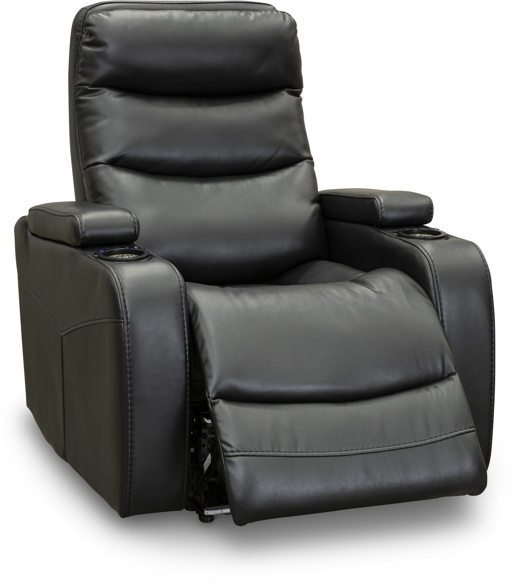 Black Power Home Theater Recliner Cinema Theater Recliners Recliner Power Recliners