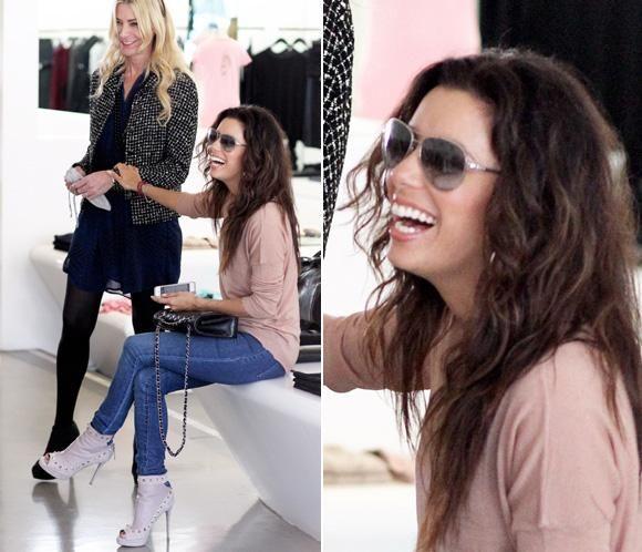 Eva Longoria olvida a Mark Sánchez a base de 'shopping' #actrices #famosas #actress #people #celebrities