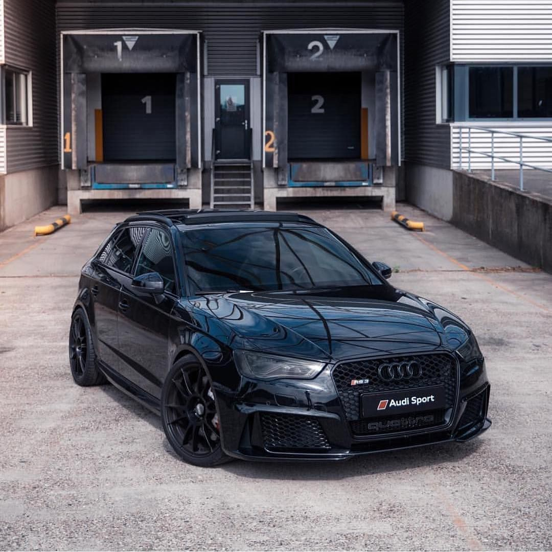 Audi A3 Hatchback Modified Audi Hatchback In 2020 Audi Rs3 Black Audi Hatchback Cars