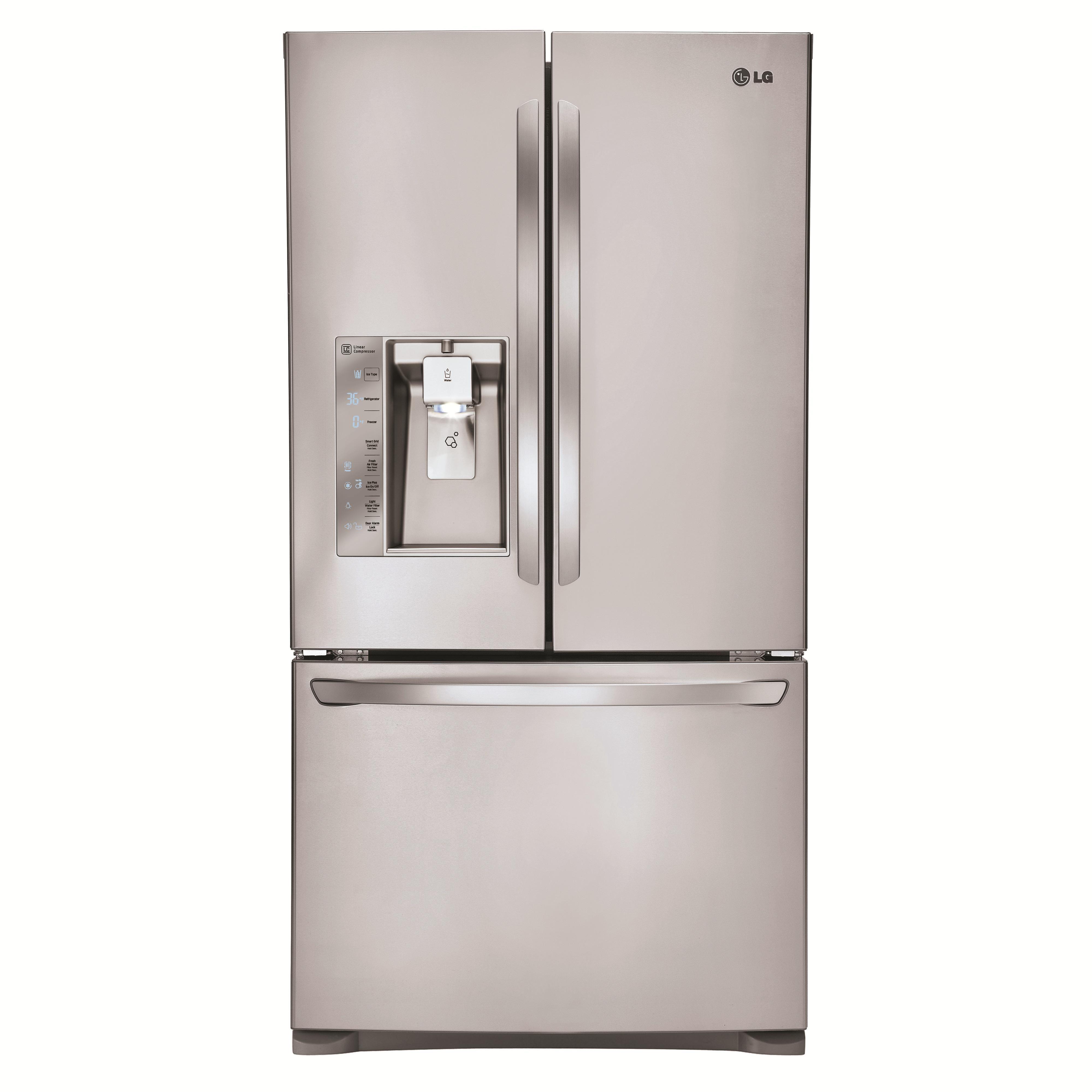 French Door Refrigerators 24 Cu Ft Counter Depth French Door