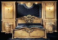 photo of Our European Masters collection grand master bedroom is a classical look with a masterful artistic touch