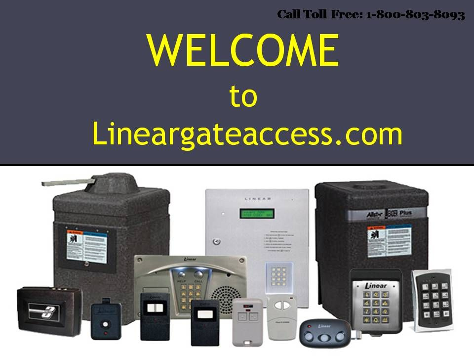Linear Gate Access And Opener Telephone Entry Remote System