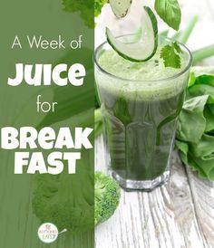 You've heard all about juice cleanses and daily green smoothies, but what happens when you have a cold-pressed, organic juice for breakfast every day for a week?