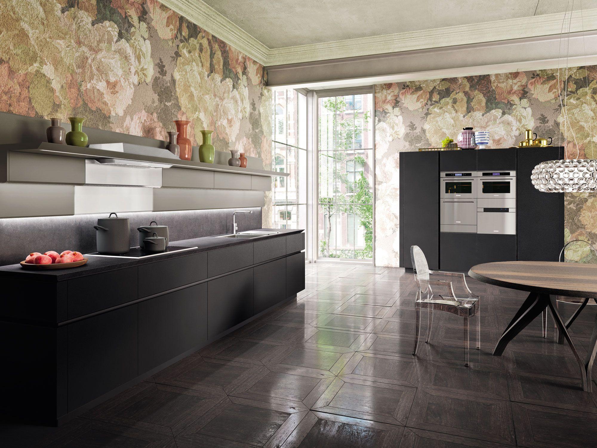 Voor wie voldoende ruimte in huis heeft, is deze keukenopstelling ...