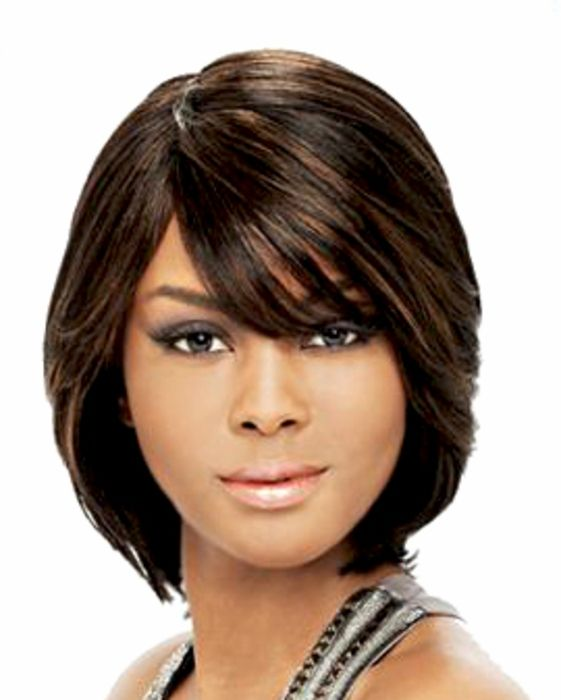 Short Black Hairstyles With Bangs Stunning Short Wigs For Black Women Human Hair Natural Duby Wigapexhairs