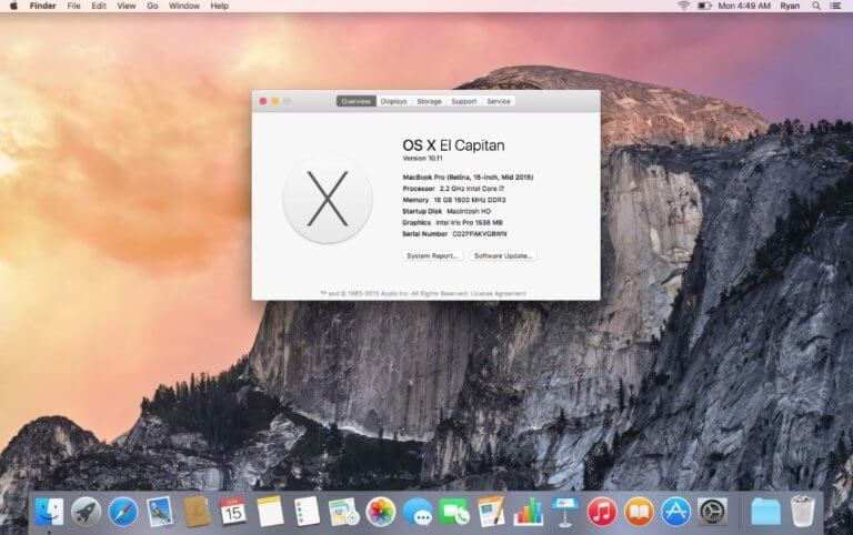 Mac os x el capitan welcome screen software gore pinterest el mac os x el capitan welcome screen ccuart