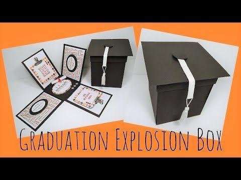 Graduation Explosion Box Video Tutorial - YouTube  aabbc66b5efe