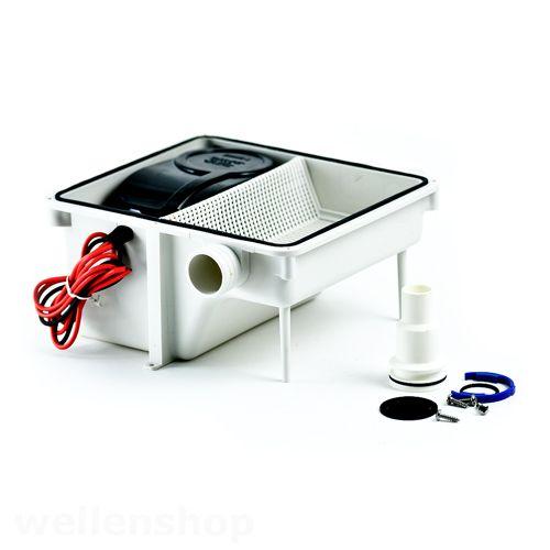 Ablaufsystem Abwassersystem mit Pumpe 12V (mit Bildern