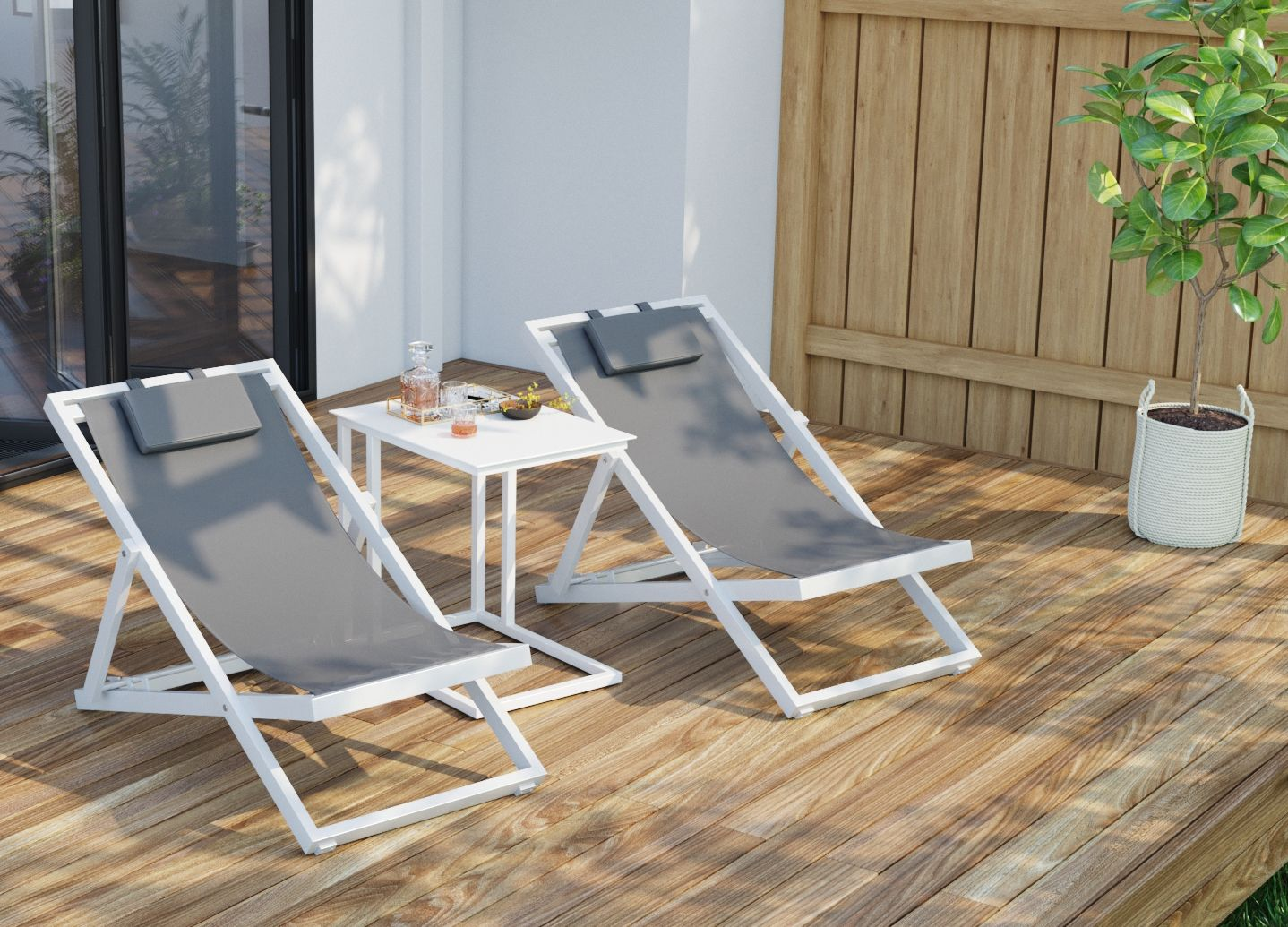 Solana outdoor easy chair offers that easy chilling vibe in your backyard or balcony new