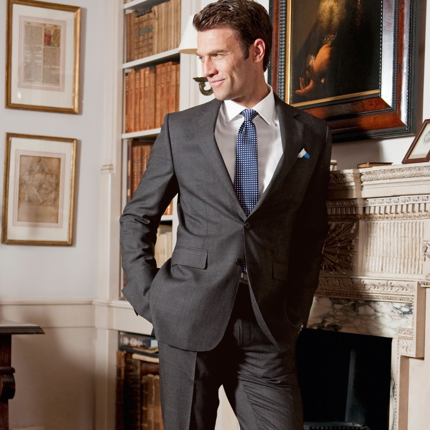 Charles Tyrwhitt gray suit #menswear | Mens Suites ...