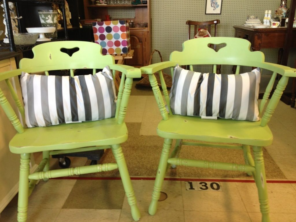 Apple Green Chairs  Chairs Apples and Green chairs