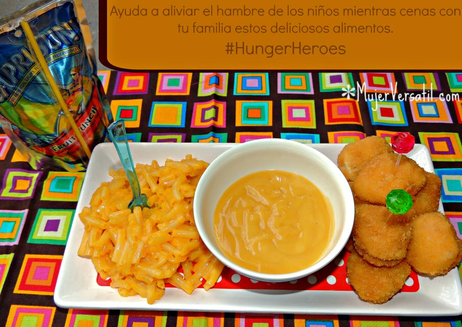 #Ad: Ayuda a Erradicar el Hambre Infantil con #HungerHeroes. Aprende como ayudar mientras disfrutas con tu familia de deliciosos alimentos.  #HungerHeroes #CollectiveBias #cbias