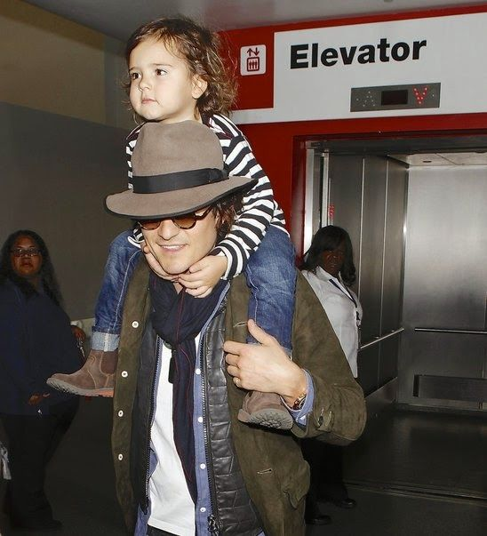 GOSSIP OVER THE WORLD: Celebrity Dads and their kids ..... A La .... Orla...
