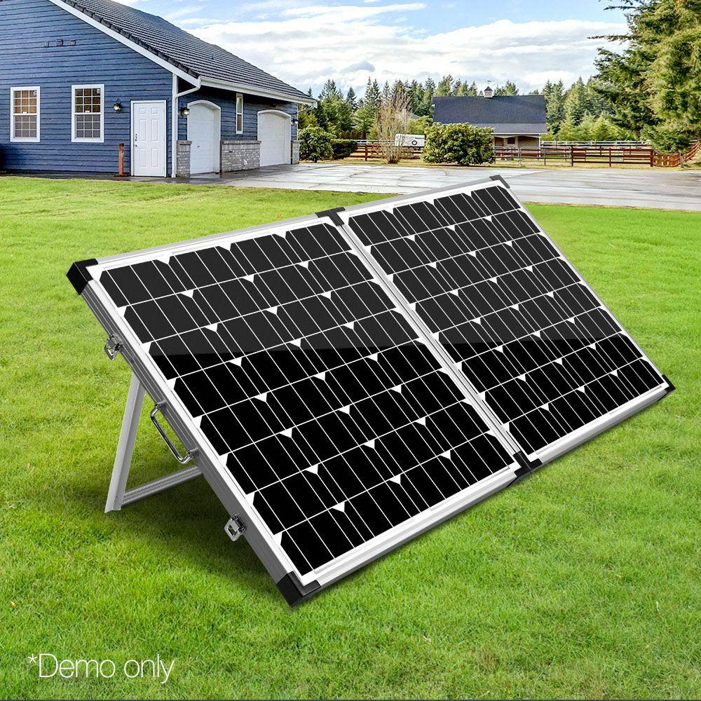 Solraiser Bi Fold Portable Solar Panel Portable Solar Panels Solar Panels Solar