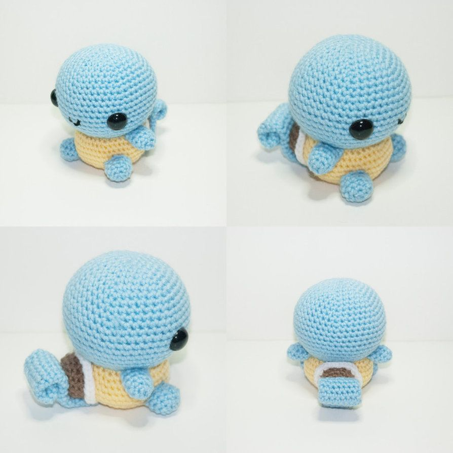 007 Squirtle, the tiny turtle pokemon. Now available on Etsy!www ...
