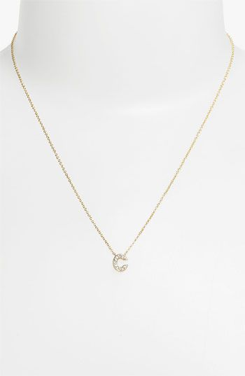 Initial pendant necklace $38 - great gift