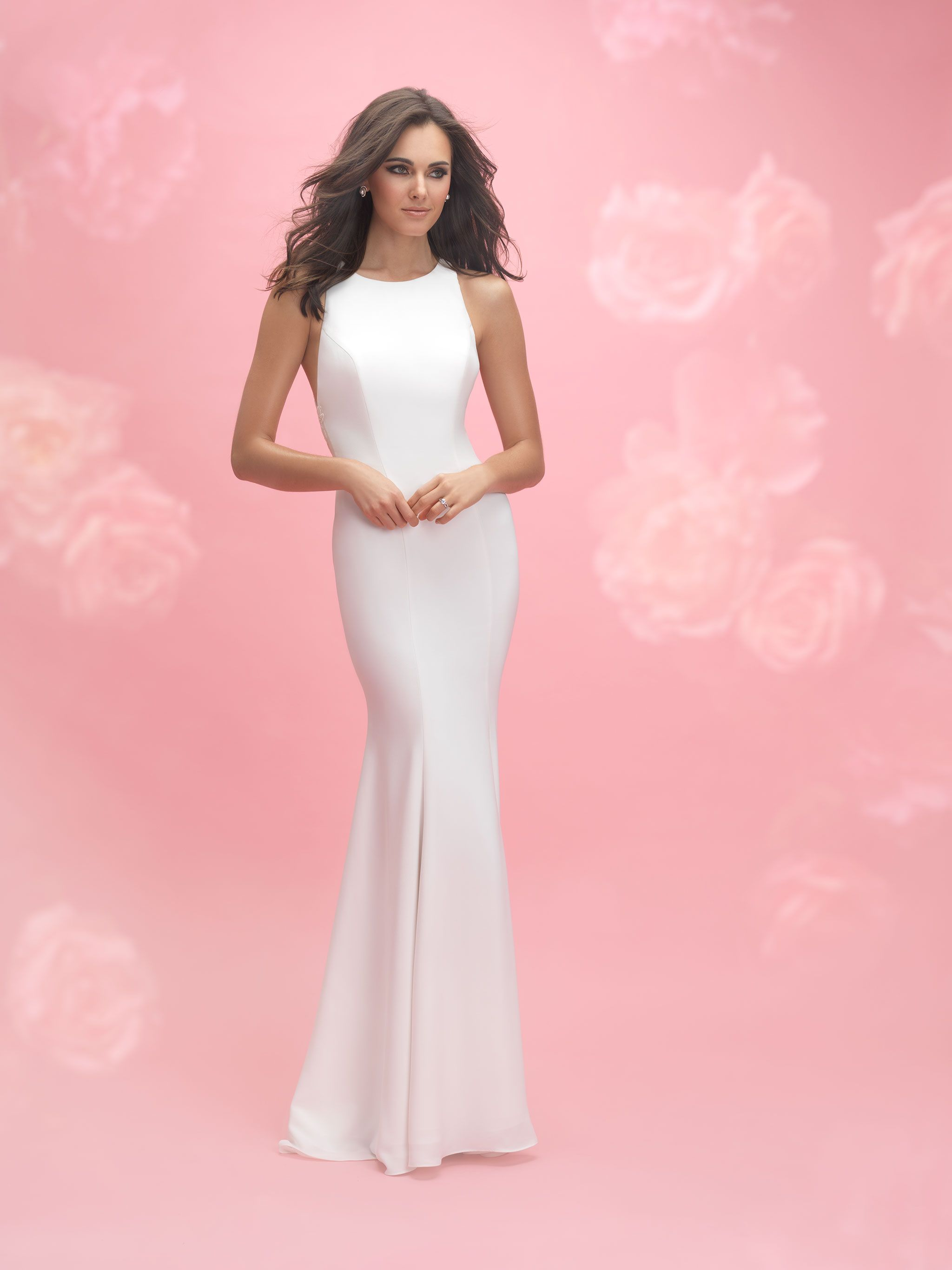 Allure Romance 3063 Ivory/Nude Size 12   Webster-Bridal Gowns ...