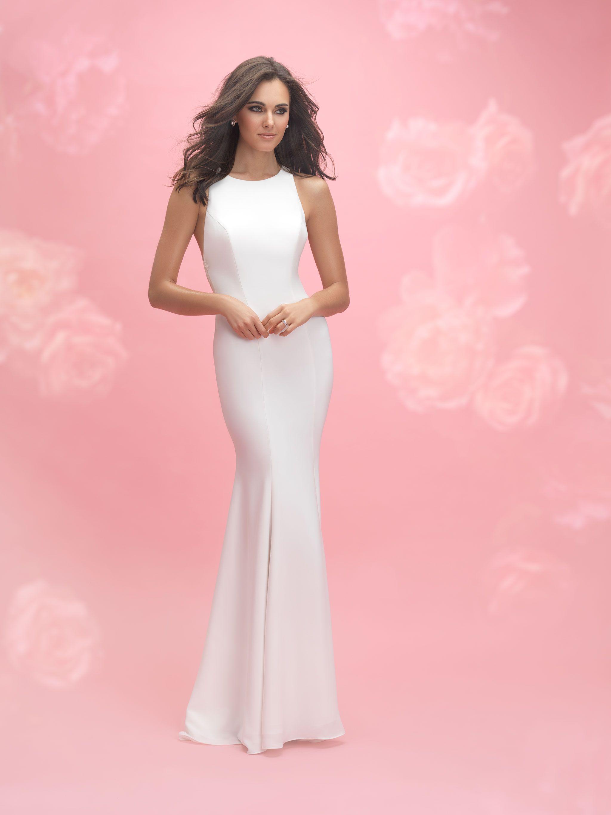 Allure Romance 3063 Ivory/Nude Size 12 | Wedding | Pinterest ...