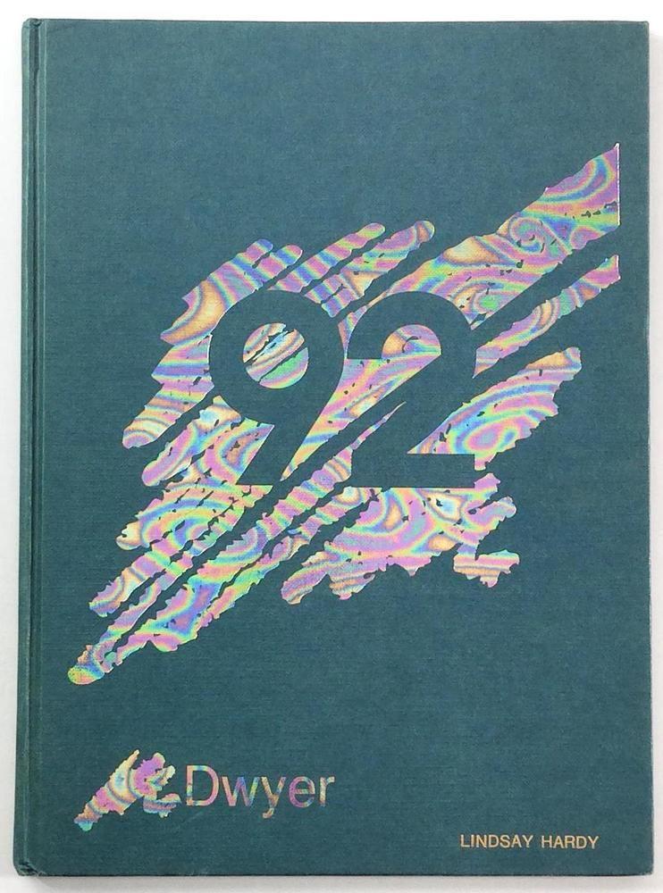 1992 Dwyer Middle School Huntington Beach Ca Original Yearbook