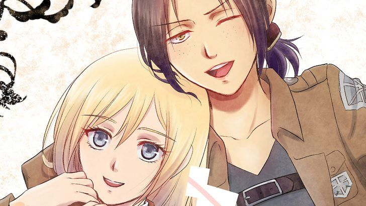 Ymir And Historia Reiss Attack On Titan Girls Wallpaper