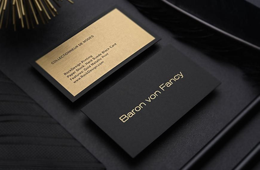Luxury Business Cards + FREE Business Card Templates - RockDesign ...