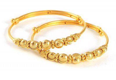 22k Gold Baby Bracelet Kids Gold Jewelry Baby Jewelry Gold