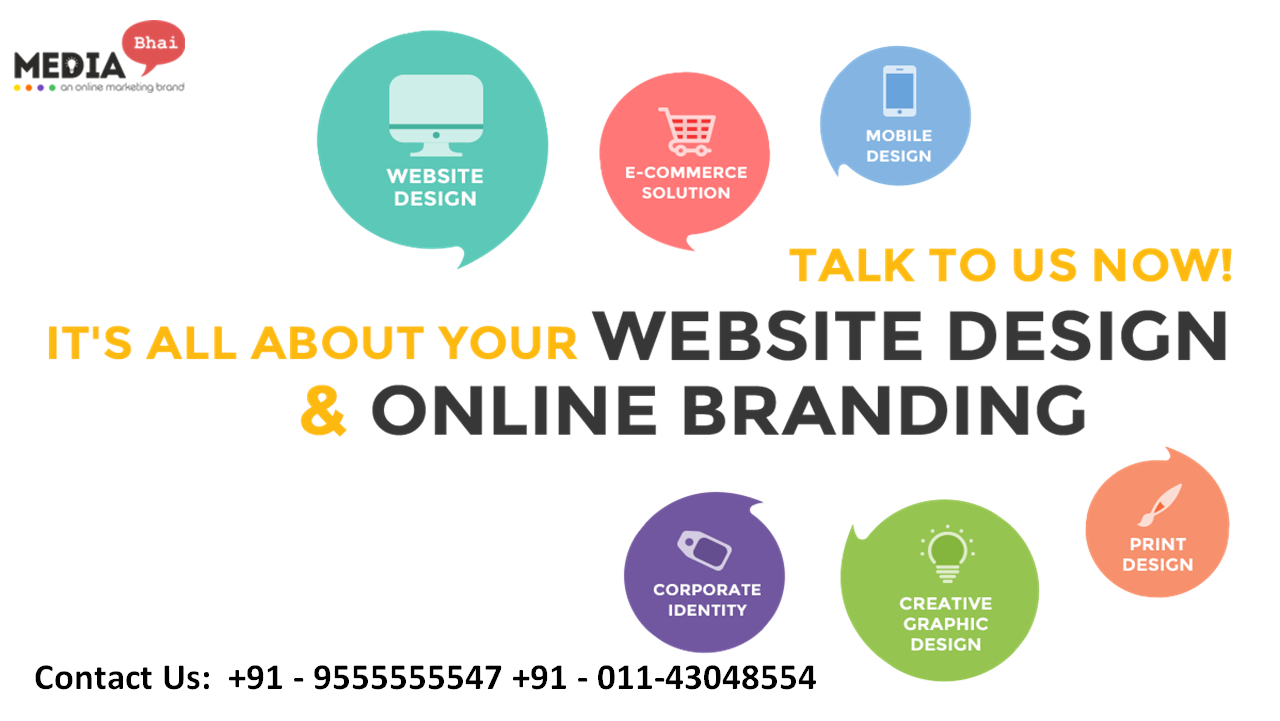 The Best Creative Graphic Designing Company In Delhi Is Media Bhai Which Has A Team O Internet Marketing Service Website Design Best Digital Marketing Company