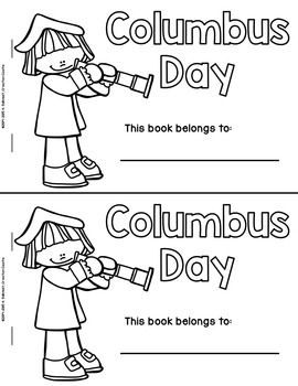 Columbus Day Guided Reading Books Kindergarten Books First Grade Activities