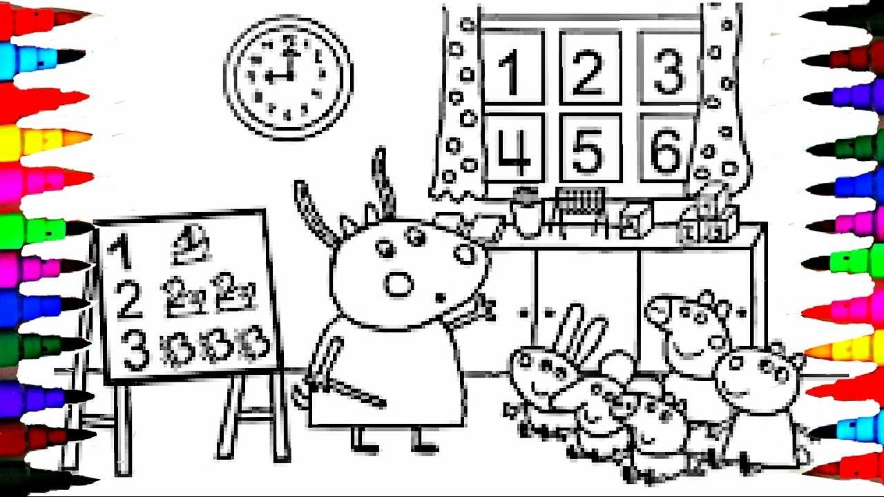 Peppa Pig Coloring Book Youtube From The Thousand Photos On Line With Regards To Peppa Pig Col Coloring Book App Peppa Pig Colouring Printable Coloring Pages