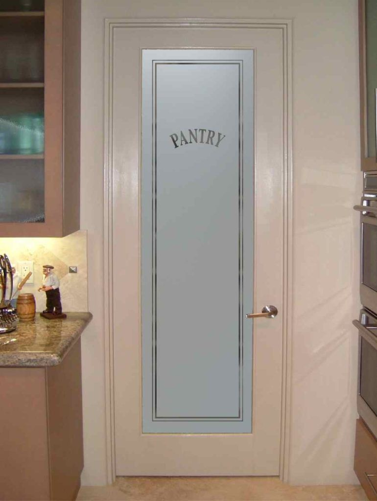 24 Pantry Door With Frosted Glass Frosted Glass Pantry Door Glass Pantry Door Pantry Door