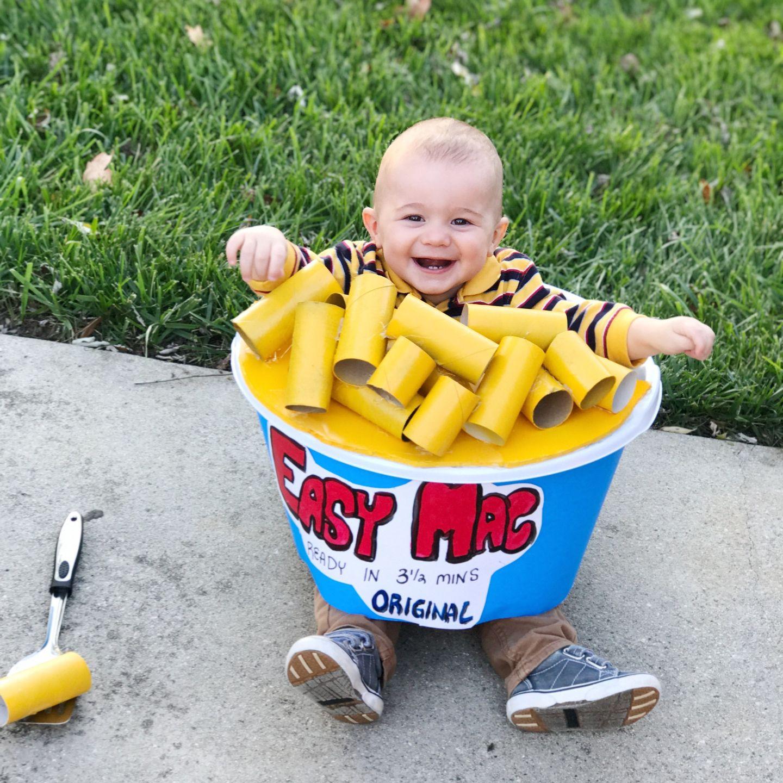 Easy Mac 'N Cheese DIY Halloween Costume | Halloween ...