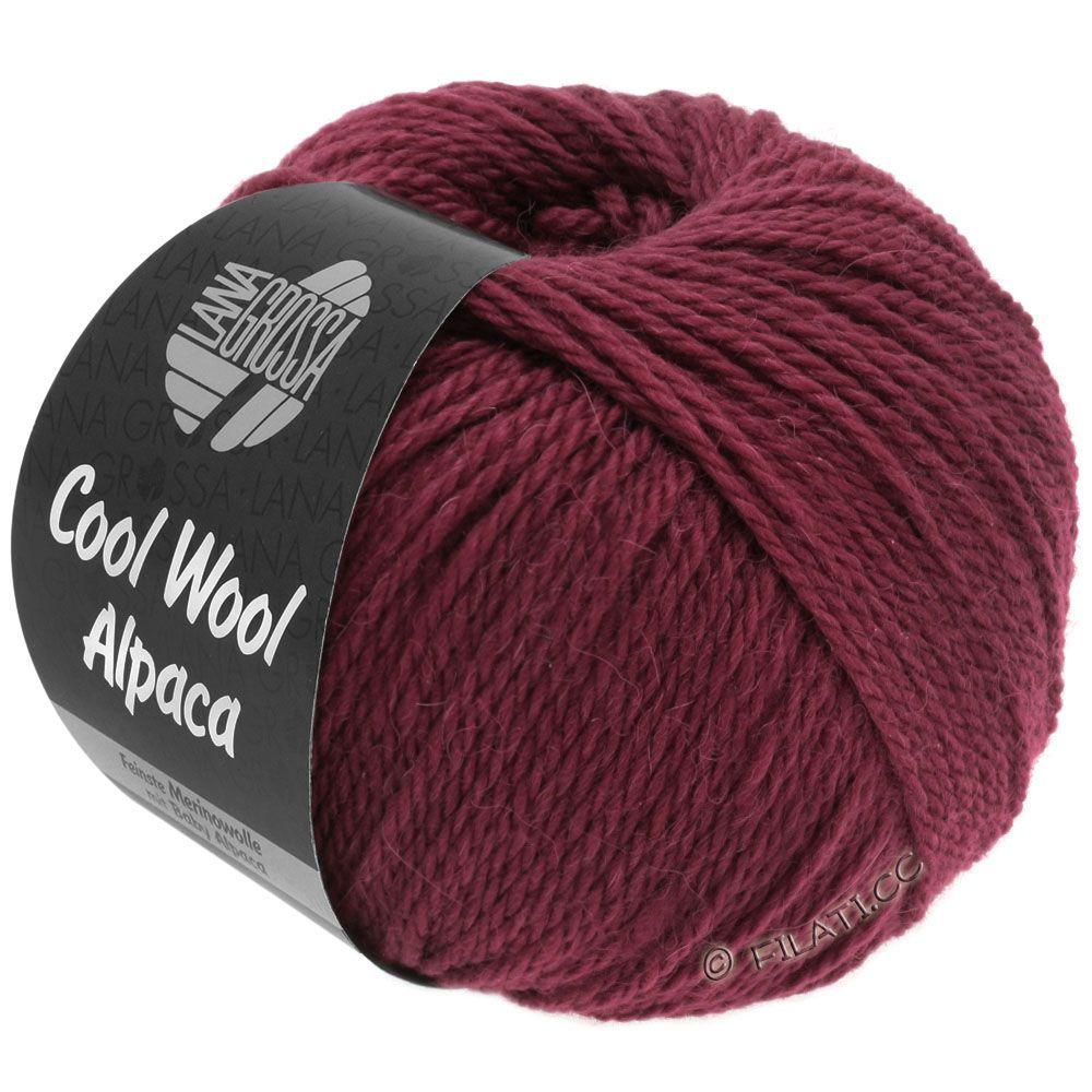 Lana Grossa COOL WOOL Alpaca   30-Bordeaux