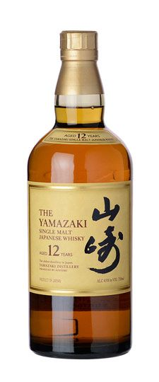Suntory Yamazaki 12 Year Old Japanese Single Malt Whiskey 750ml Whisky Malt Whisky Malt