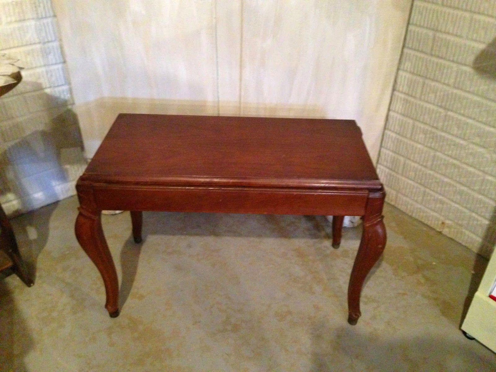 Thrifty Treasures: Plain piano bench goes glamorous