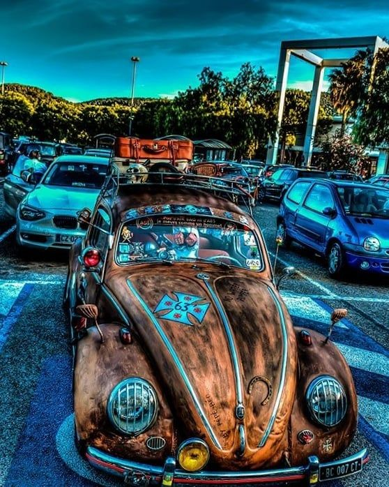 Car Vw Beetle Volkswagen Fusca Car Wallpapers Retro Cars Vw Art