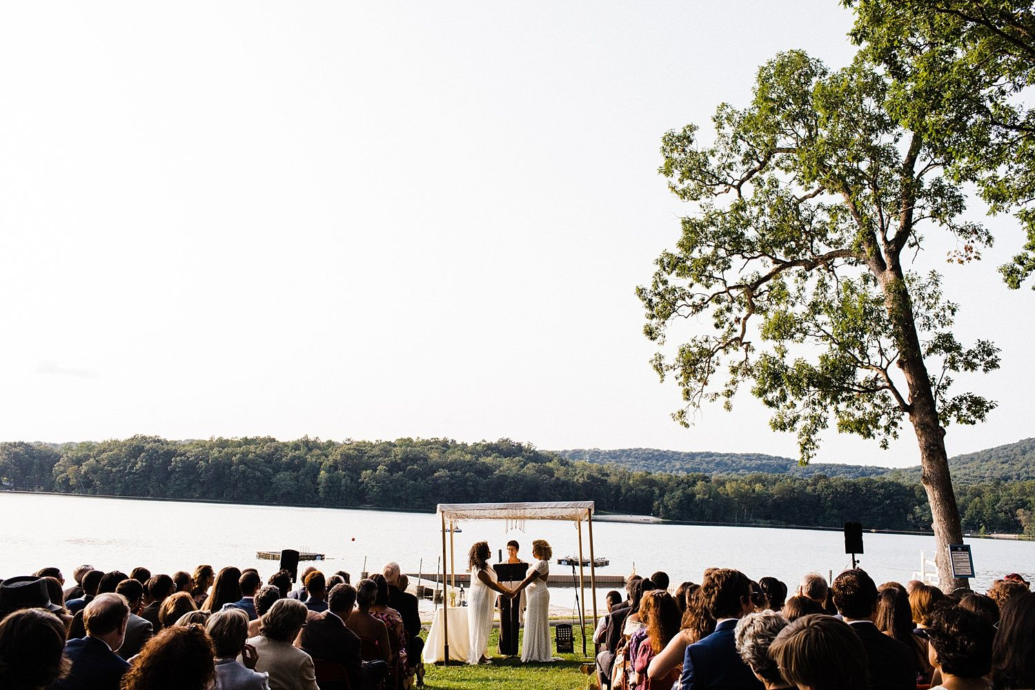 Our 200-Guest Summer Camp Wedding Was Pure Soulfood | Practical ...