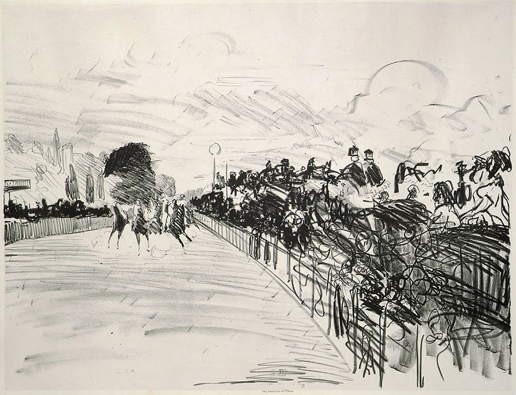 Edouard Manet. The Races
