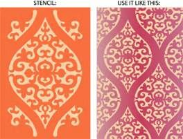 Large Moroccan Stencil - Bing images