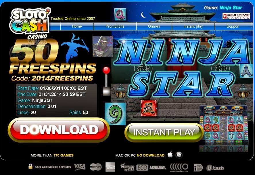 Featured Slotocash casino bonus codes 2019