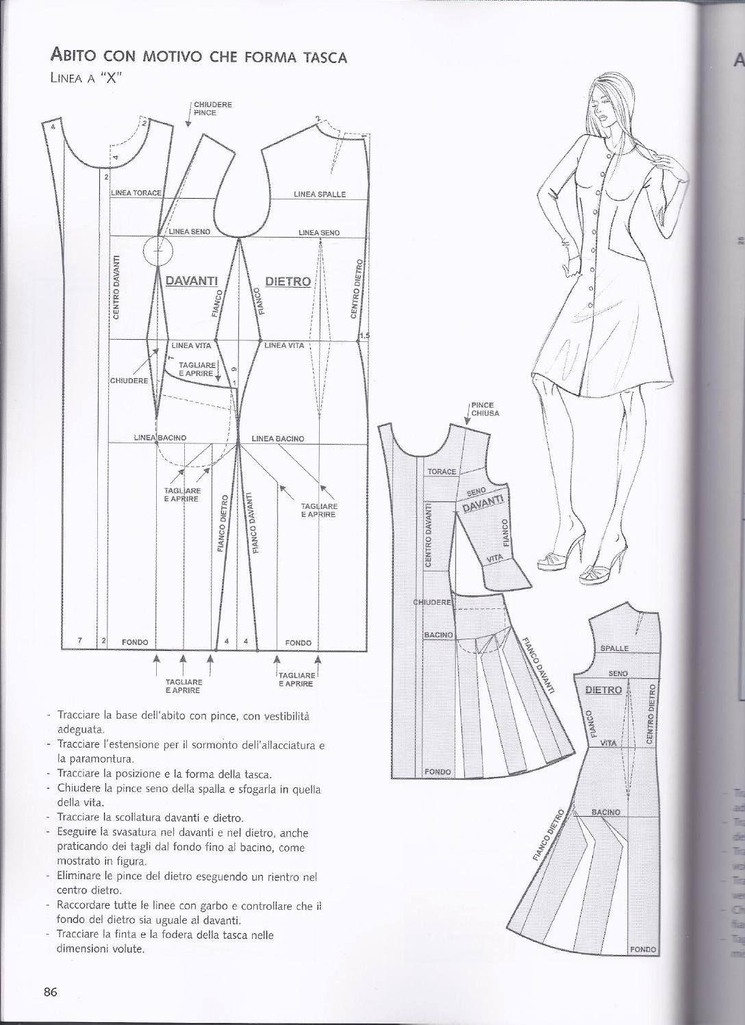 Pin de Cherry Rodriguez en libro corseteria | Costura, Patrones y Moldes